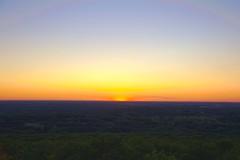 Sunset at Lapham Peak - Wisconsin (2sheldn) Tags: sunset sky orange wisconsin canon peak wi allrightsreserved lapham 550d t2i top20sunsetsofourhearts sheldn copyrightdanielsheldon allrightsreserveddanielsheldon sheldnart