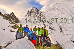 HAPPY INDEPENDENCE DAY (TARIQ HAMEED SULEMANI) Tags: pakistan tourism trekking canon hiking north concordia k2 tariq northernpakistan skardu sulemani hushay jahanian ghandoghoro askolay