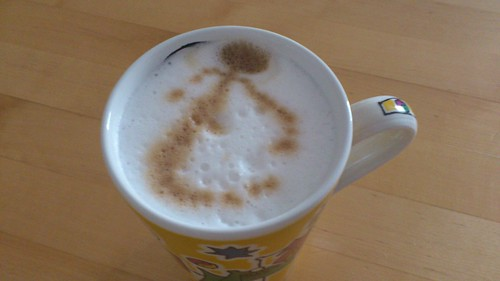 coffee milk froth