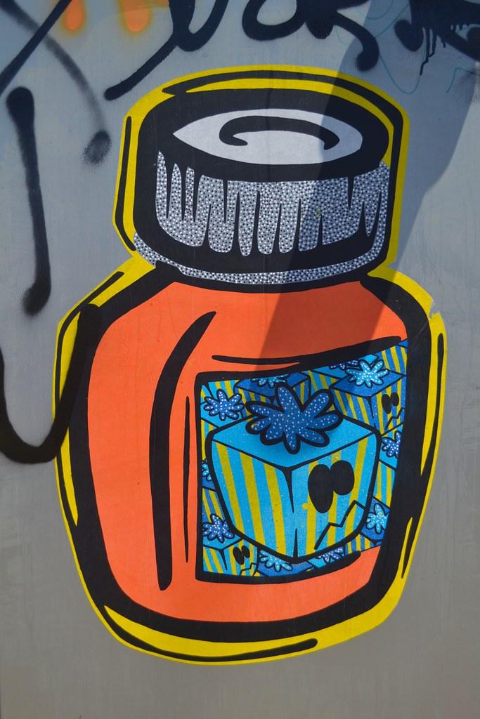 GIFT GIVER, STM, Graffiti, Street Art, Oakland