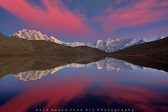 Malubiting 7458m & Spantik 7027m   Peak (M Atif Saeed) Tags: pakistan mountain mountains nature landscape rushlake colorphotoaward impressedbeauty atifsaeed