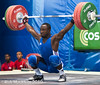 Dabaya Vencelas FRA 69kg (Rob Macklem) Tags: world dominican republic 2006 weightlifting championships domingo santo fra iwf dabaya vencelas 69kg