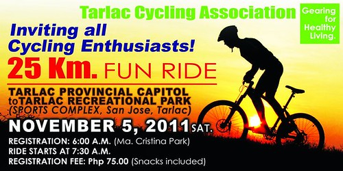 Tarlac City 25KM Fun Ride