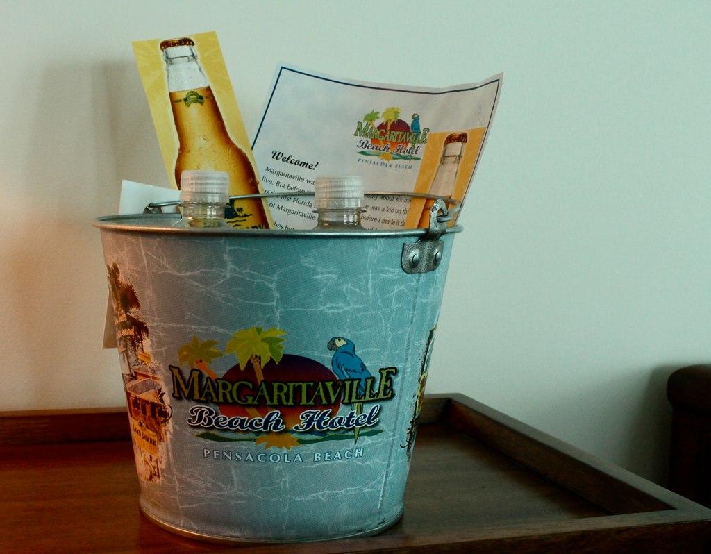 Welcome Bucket, Margaritaville Beach Hotel