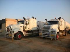 Northfuel Mack Titans (dieseljocky) Tags: truck australia titan northern mack territory roadtrain fuels newbreed ntf