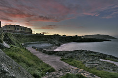Sunset over the Cove, Greystones (JayGriffin) Tags: county ireland cove greystones wicklow