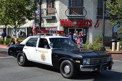 LOS ANGELES COUNTY SHERIFF'S DEPARTMENT (LASD) - CHEVY NOVA (Navymailman) Tags: santa county los angeles 4th july parade valley law enforcement sheriff fourth department clarita newhall laso scv 2011 lasd of