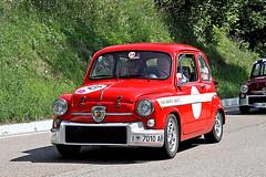 ABARTH  850 TC (marvin 345) Tags: auto old italy classic cars car vintage automobile italia fiat voiture historic oldtimer altoadige vecchio abarth epoca southtirol storico vecchia bz vecchie storiche passomendola abarth850tc revivalbolzanomendola