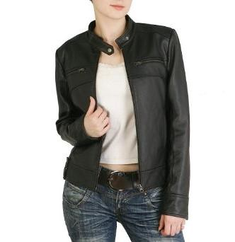 Cowhite motorcycle leather jacket