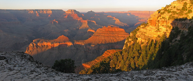 Grand Canyon: Sunset Near Yaki Point Summer: SR 1560