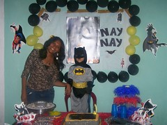 Mommy and Batman!