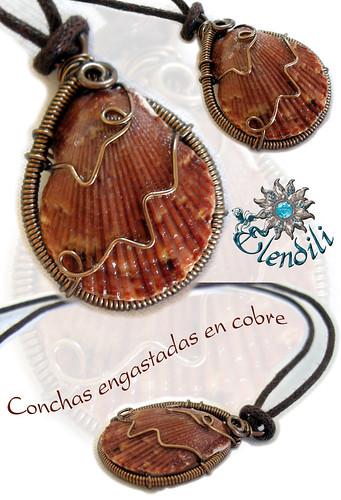 Concha engastada en cobre by **Elendili**