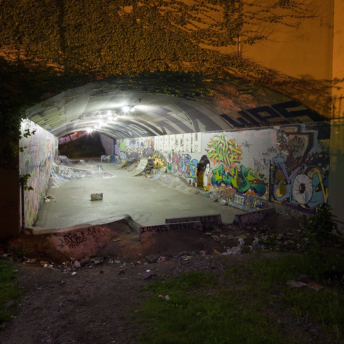 Vancouver Tunnel Skate Park