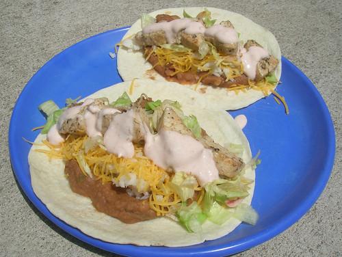 Amberjack Tacos
