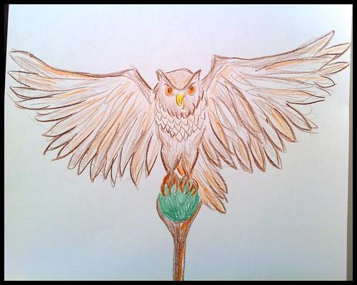 Owl podium