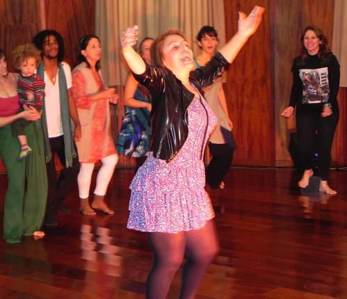 Silmara celebrando sua dança by Silvana Abreu