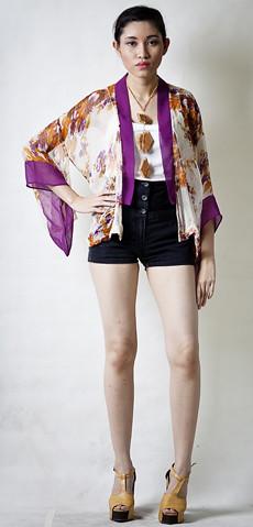 Kimono in Orange1