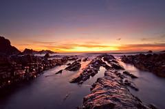 Hartland North Devon (peterspencer49) Tags: ocean sunset sea seascape southwest clouds evening coast devon coastline oceanview coastalpath westcountry ledges southwestcoast northdevon southwestcoastalpath hartlandquay seascene cliffwalks 5dmkll peterspencer
