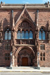 Scottish National Portrait Gallery (itmpa) Tags: scotland sandstone edinburgh gallery artgallery gothic entrance architect elevation newtown queenstreet listed refurbished ngs portraitgallery spanishgothic redsandstone scottishnationalportraitgallery nationalgalleriesofscotland pagepark southelevation categoryalisted tomparnell robertrowandanderson itmpa simpsonbrown conservationplan redcorsehillsandstone archhist
