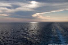 ..Tramonto.. (Raffaele Russo (LeleD445)) Tags: sea sun photo mediterraneo tramonto mare foto nave sole scia