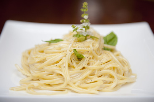 Dish of the day: Lemon-scented linguine at Aura