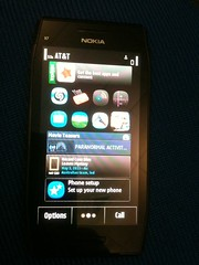 Been showing the not released yet @Nokia X7 to loads of people at esriuc