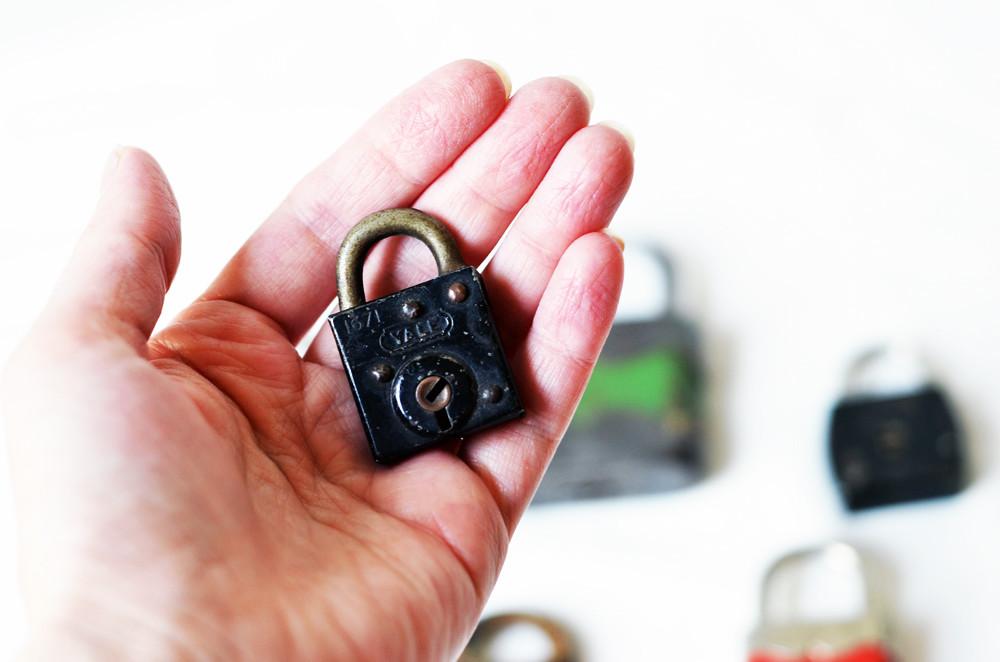 Insta-Collection of Seven Vintage Locks
