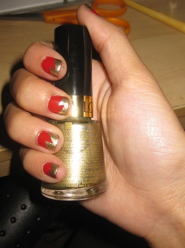 gryffindor nails 007