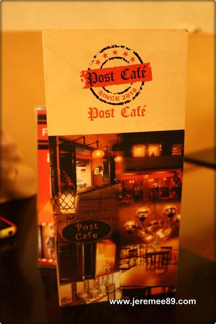Post Cafe @ Carnarvon Street - Menu