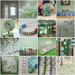 the perfect color (harthillsouth) Tags: inspiration color green fdsflickrtoys mosaic favorites collection dustymint