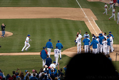 game-winner (FSHMNKY) Tags: chicago baseball cubs wrigleyfield wrigley chicagocubs homerun cardinals mlb stlouiscardinals majorleaguebaseball aramisramirez gamewinner