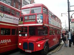 Metroline RML2755 (SMK 755F) Oxford Circus 3/3/01 (jmupton2000) Tags: london buses routemaster rm aec metroline prv rml smk755f