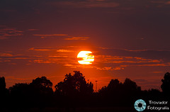 Atardecer Bologna 14.06.11 (Trovador Fotografa) Tags: sunset red sky sun hot sol atardecer warm italia cielo nubes verano bologna ostello