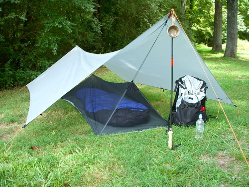 fc17ae3351f The Tarp Bivy Combo  Your Sub 1lb Shelter — Brian s Backpacking Blog