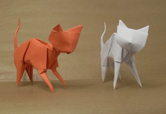 Cats (or(EST)igami) Tags: cat origami juan lopez figueroa
