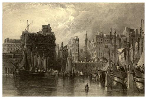 013-Puerto del Havre-Francia-Stanfield's coast scenery…1836- Clarkson Stanfield