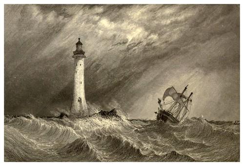 020-Faro de Eddystone-Inglaterra-Stanfield's coast scenery…1836- Clarkson Stanfield