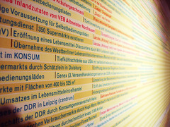 Deutschland (El Rococó) Tags: history museum germany deutschland frankfurt alemania timeline museo compras letras orden hesse tipografía organización kunstsammlung tipográfico líneadetiempo afuerasdefrankfurt