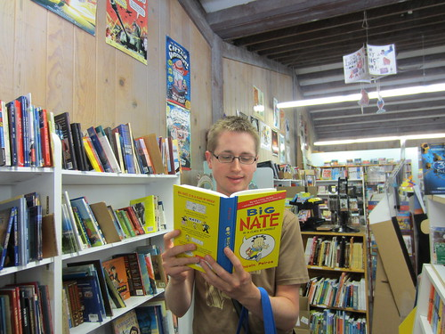 Where Mr. Schu Read This Summer: Storyteller Book, Lafayette, CA