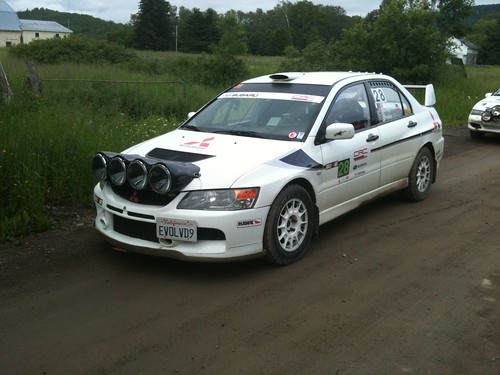 Evo ready for the first stage start