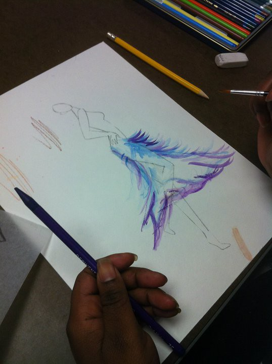 Sketching by Clary Sage College, on Flickr