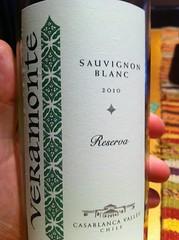 2010 Veramonte Sauvignon Blanc