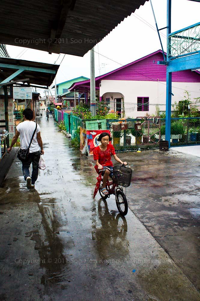 Cycling @ Pulau Ketam, Malaysia
