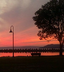 Lake Dardanelle State Park (beckfost) Tags: park sunset lake photography phone state cell cellphonepictures dardanelle