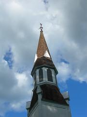 Tygarts Valley Presbyterian Church Steeple (jimmywayne) Tags: church historic westvirginia presbyterian nationalregister tygartsvalley randolphcounty nrhp huttonsville