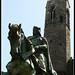 Estatua conde Berenguer - Barcelona