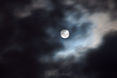 panning moon :p (mr_i) Tags: sky cloud moon night nikon zoom harmony malaysia nikkor f28 d90 flickraward