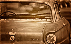 Falcon (...-Wink-...) Tags: old ford car sepia falcon verycool nikond80 opteka500mmf8