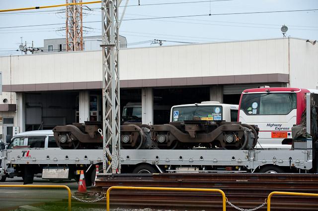 京王電鉄井の頭線3000系3029F デハ3079 デハ3129 搬出