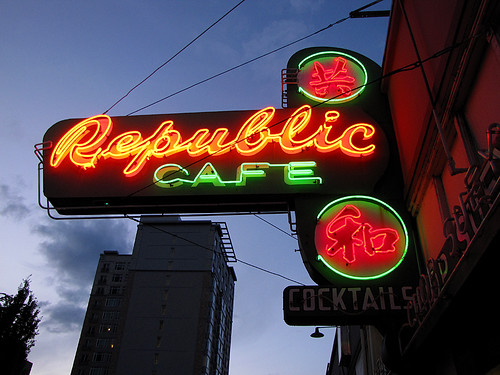 Republic Cafe - Portland, Oregon